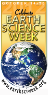 earth science week banner